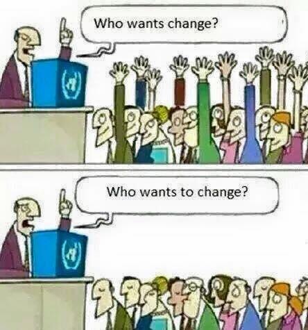 verandering wat maakt het succes