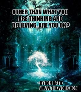 Hoe gaat het met je buiten wat je denkt en gelooft?